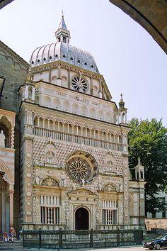 Cappella Colleoni, Bergamo province of bergamo , Lombardy region - Italy