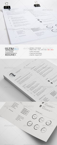 Food Server Resume Template Professional resume template - food service resume templates