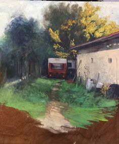 Oil painting #toulouse #amoureoux #france