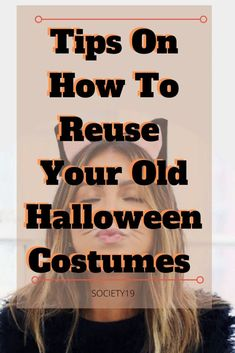 Tips On How To Reuse Your Old Halloween Costumes Original Halloween Costumes, Halloween Dress, Halloween Party, Halloween Decorations, Resale Clothing, Diy Clothing, Leopard Costume, Cut Up, Reduce Waste