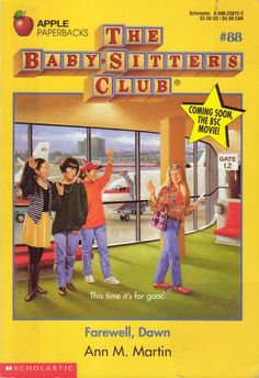 Claudia's yellow skirt and stripes on Farewell, Dawn | The Definitive Ranking Of All 131 Baby-Sitter's Club Cover Outfits