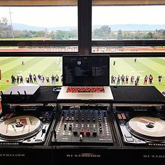 Wedding one day, football game the next. That's the life of a mobile DJ. : @djstallion925
