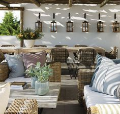 Outdoor living ideas from South African homes. Outdoor living ideas and sources for beautiful outdoor spaces. All inspired by our trip to South Africa this summer. Outdoor Areas, Outdoor Rooms, Outdoor Living, Outdoor Furniture Sets, Outdoor Decor, Rattan Furniture, Outdoor Lounge, Indoor Outdoor, Coastal Living Rooms