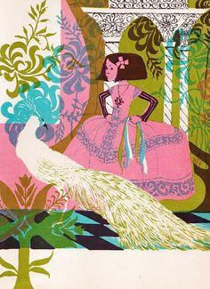 Pavo and the Princess Evaline Ness ~ Charles Scribner's Sons ~ 1964
