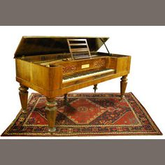 An early Victorian rosewood-cased Broadwood & Sons square piano Sold for £192 inc. premium