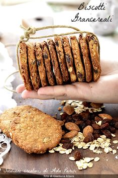 Healthy Cake, Healthy Cookies, Best Cookie Recipes, Sweet Recipes, Delicious Desserts, Dessert Recipes, Biscotti Cookies, Italian Desserts, Italian Recipes