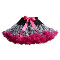 Zebra print tutu skirt. I do believe my Angel needs this.