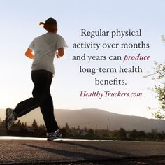 Regular physical activity over months and years can produce long-term health benefits.