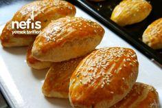 Tereyağlı Yumuşacık 5 Dakika Poğaçası #tereyağlıyumuşacık5dakikapoğaçası #poğaçatarifleri #nefisyemektarifleri #yemektarifleri #tarifsunum #lezzetlitarifler #lezzet #sunum #sunumönemlidir #tarif #yemek #food #yummy Hamburger, Food And Drink, Pizza, Recipes, Yummy Yummy, Bread, Bakken, Hamburgers