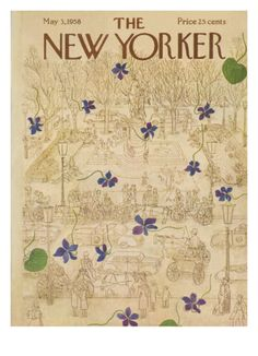 THE NEW YORKER COVER - MAY 3, 1958