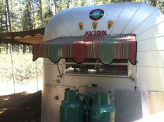 VINTAGE AVION CAMPERS | 1965 Avion Vintage Trailer | Vintage Trailers Moms new toy