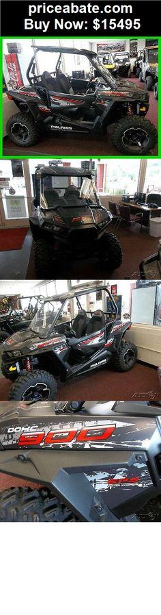 Power-Sports-ATVs-UTVs: New 2015 Polaris RZR900 RZR 900 XC fox shocks UTV EPS black w/ GPS OTD Price - BUY IT NOW ONLY $15495