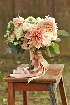 18 Glamorous Blush Wedding Bouquets That Inspire ❤ See more: http://www.weddingforward.com/blush-wedding-bouquets/ #weddings #bouquets #weddingflowers