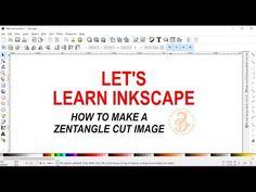33 - Zentangle cut image - YouTube