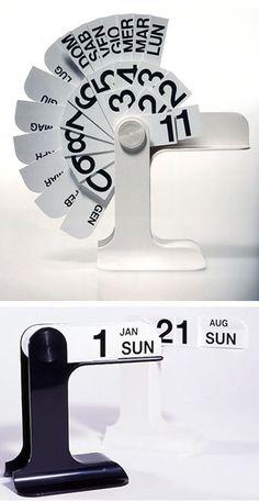 Enzo Mari: Timor Desk Calendar | NOVA68 Modern Design