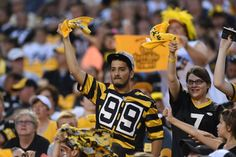GAME DAY PHOTOS: Preseason Week 1 vs. Detroit Lions... Steeler Nation out in Force makes my heart smile!