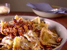 Ravioli with Balsamic Brown Butter Recipe : Giada De Laurentiis : Food Network