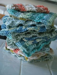 Stack of Washcloths