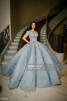 Aishwarya Rai departs the Martinez Hotel during the 70th annual Cannes Film Festival on May 19, 2017 in Cannes, France.