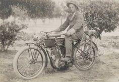 Thor Motorcycle. circa 1917.