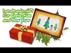"PART 1of 3 tutorial: Beaded Applique ""New Year gift"" (Аппликация из бисера)"