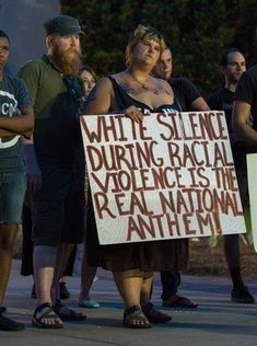 White silence during racial violence is the real national anthem