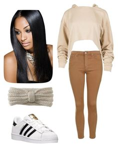 Untitled #19 by jerriyah-alanasia on Polyvore featuring polyvore, fashion, style, Topshop, adidas, Aéropostale and clothing