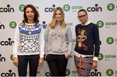 The Fashion circle for Oxfam Italia, con Coin, Stella Jean, Jo No Fui, Kristina Ti.