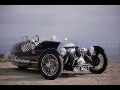 Irres Dreirad für Nostalgiker: Morgan 3-Wheeler - DesignNerd