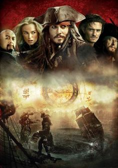 Pirates of the Caribbean: At World's End Key art