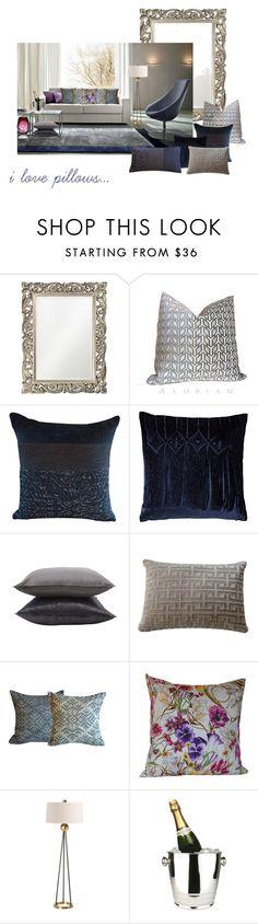 """i love pillows"" by home-23b on Polyvore featuring interior, interiors, interior design, Casa, home decor, interior decorating, Grandin Road, Highland Court, Aviva Stanoff e Jayson Home"