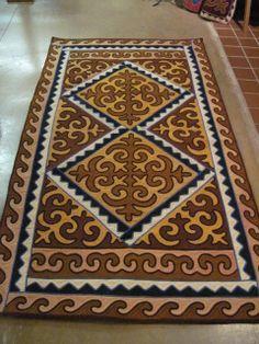 Shyrdaks (rugs) - Aizada Imports (also imported wool felt nativity set)