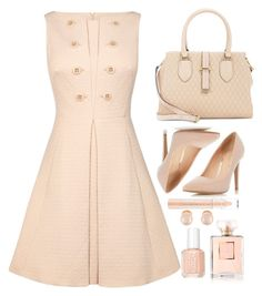 """""""Untitled #214"""" by shannie-chic ❤ liked on Polyvore featuring Chanel, Dorothy Perkins, Karen Millen, Calvin Klein, Kenneth Jay Lane and Essie"""