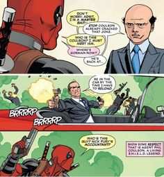 Agent Coulson!!! in Deadpool #22 If Coulson could be in the Deadpool movie... yeah, that'd be great.