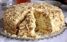 Medová Napoleon torta