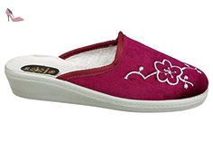 gibra , Chaussons pour fille - Rouge - Rouge, 41 - Chaussures gibra (*