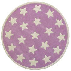 Awesome Teppich rund grau Sterne wei Der handgekn pfte Wollteppich von Kids Concept ist ein flauschiger und zugleich w rmender neuer Blickfang im Kinderzimmer