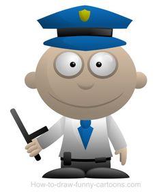 Be nice or this ... nice cartoon policeman will be ... nice!