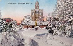 Mayo Clinic, Rochester Minnesota