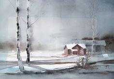 Akvareller - Lars Wetterbrandt akvareller