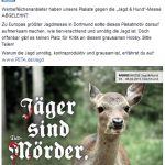 PeTA darf nicht in Dortmund werben