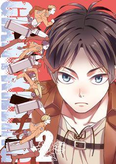 Eren Jaeger #anime #attackontitan #shingekinokyogin-Survey Corps