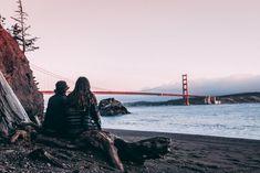 Refuse to hibernate San Francisco plage Kirby Cove pont du Golden Gate Visiter San Francisco, Kirby Cove, Golden Gate Bridge, New York Skyline, Adventure, Travel, Saints, Bridge Pattern, Vacation