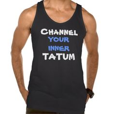Funny Tatum Workout Muscle Handsome Dancer Pun Tank Top