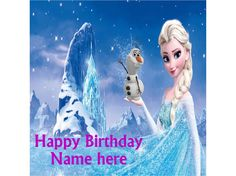 "Happy Birthday Frozen Elsa olaf Cake topper 7.5"" Square Decor icing sheet Listing in the Cake Decorating,Crafts, Handmade & Sewing Category on eBid From occasions.occasion"