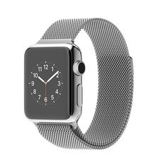 Apple Watch features Stainless steel or space black stainless steel case Sapphire crystal Retina display with Force Touch Ceramic back Digital Crown Heart rate sensor, accelerometer, and gyroscope Ambient light sensor Speaker and microphone Wi-Fi (802.11b/g/n 2.4GHz) Bluetooth 4.0 Up to 18 hours of battery life* Water resistant** $649