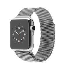 Apple Watch - 38-mm kast van roestvrij staal, Milanees bandje - Apple (NL)