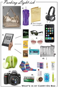 Packing Light-Ish: What's In My Carry-On Bag - Fantabulously Frugal in Chicago