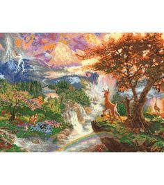 M C G Textiles Disney Dreams Collection Bambi 16''X12''
