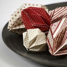 Origamikoristeet Copenhagen Design-paperista | DIY guide